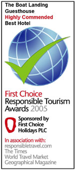 The First Choice Responsible Tourism Awards Best Hotel